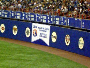 1994 Montreal Expos Banner