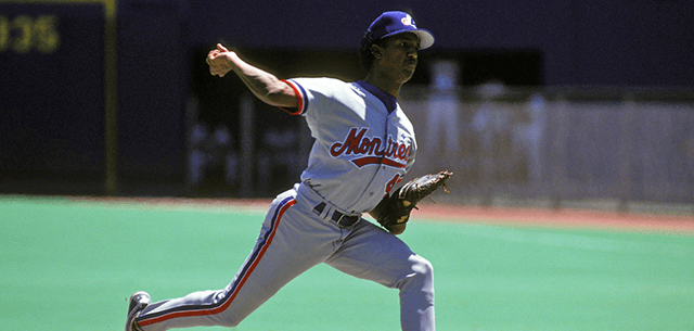 Pedro Martinez Pitching as a member of Montreal Expos