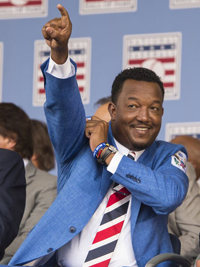 Pedro Martinez Hall of Fame Credit: Gregory Fisher USA Today Sports