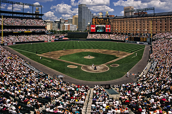 Baltimore Stadium Baseball