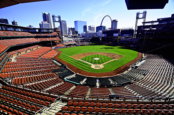 St. Louis Stadium Baseball