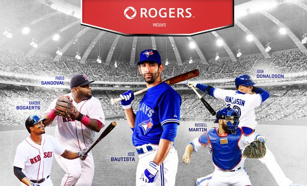 RED SOX vs BLUE JAYS - avril 2016