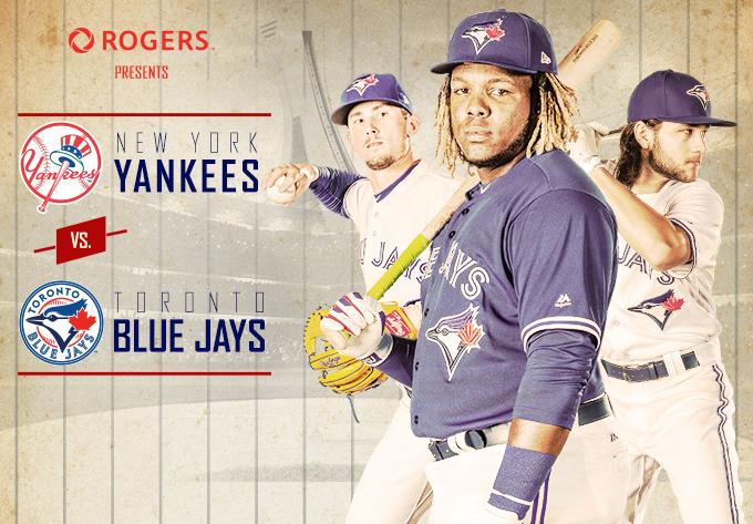 Yankees vs BlueJays Stade Olympique – Montréal Evenko 2020