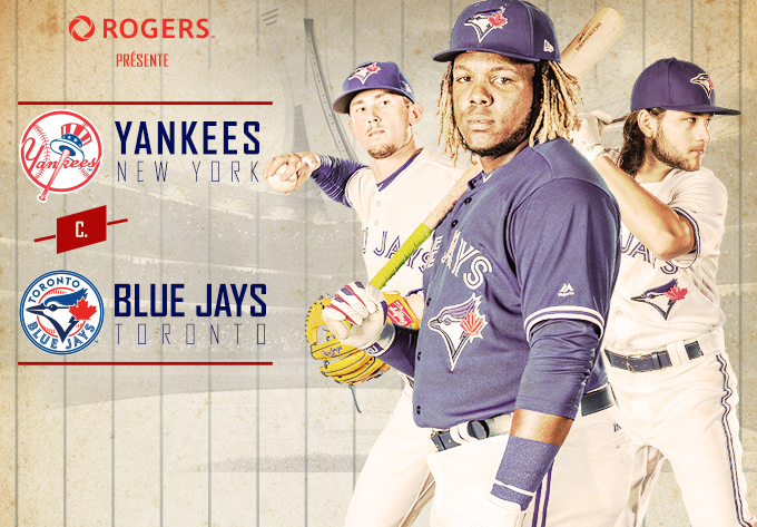 Yankees vs BlueJays Stade Olympique – Montréal Evenko 2020